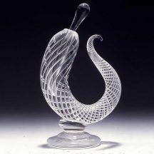 sculptural perfume bottle